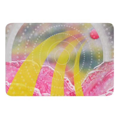 Enlightening by Infinite Spray Art Memory Foam Bath Mat