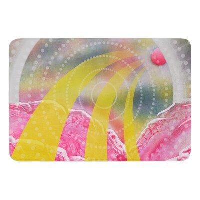 Enlightening by Infinite Spray Art Memory Foam Bath Mat