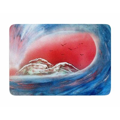 Tubular by Infinite Spray Art Memory Foam Bath Mat