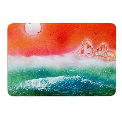 Dream Seascape by Infinite Spray Art Memory Foam Bath Mat