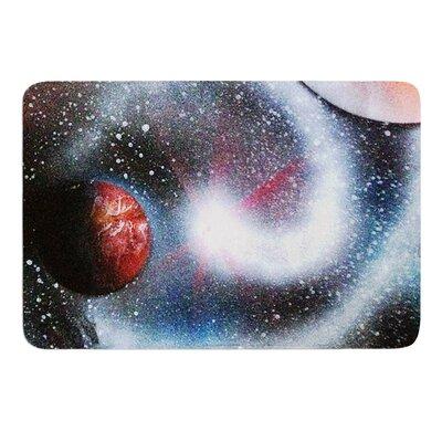 Starburst by Infinite Spray Art Memory Foam Bath Mat