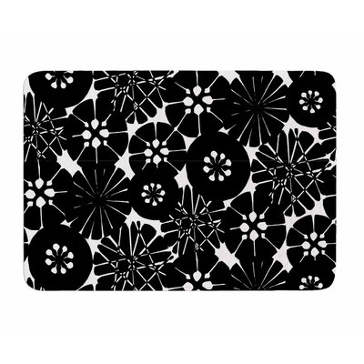 Circle Abstract by Amy Reber Memory Foam Bath Mat