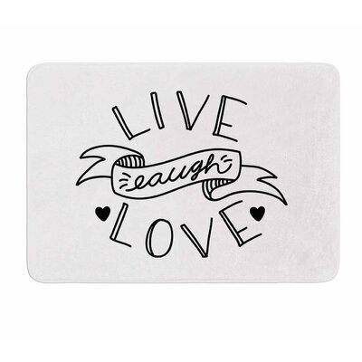 LLL by Busy Bree Memory Foam Bath Mat