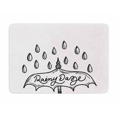 Rainy Daze by Busy Bree Memory Foam Bath Mat