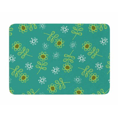Ditsy Daisy by Holly Helgeson Memory Foam Bath Mat