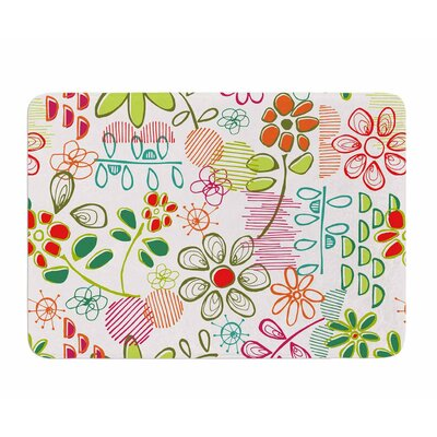 Wildflower by Holly Helgeson Memory Foam Bath Mat