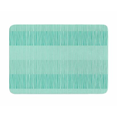 Mod Grass by Holly Helgeson Memory Foam Bath Mat