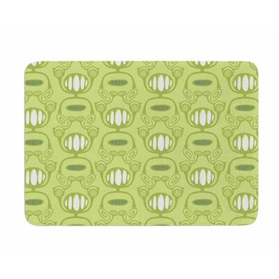 Flower Power by Holly Helgeson Memory Foam Bath Mat