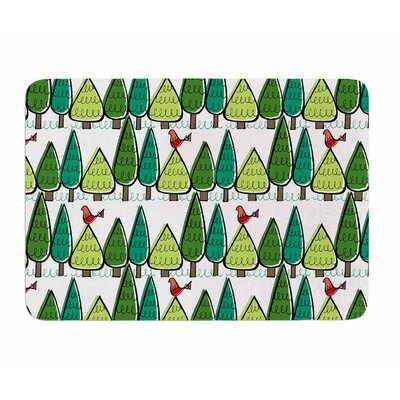 Vintage Christmas by Holly Helgeson Memory Foam Bath Mat
