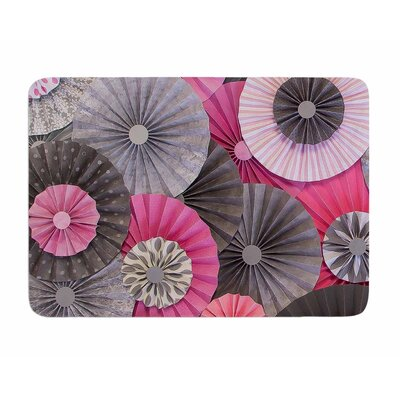 Bubble Gum by Heidi Jennings Memory Foam Bath Mat