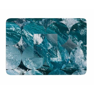 Crashing by Matt Eklund Memory Foam Bath Mat