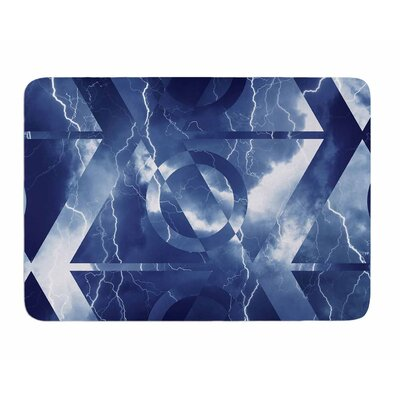 Hurricane by Matt Eklund Memory Foam Bath Mat