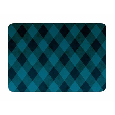Deep Current by Matt Eklund Memory Foam Bath Mat