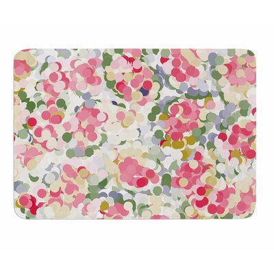 Soft Dots by Matthias Hennig Memory Foam Bath Mat