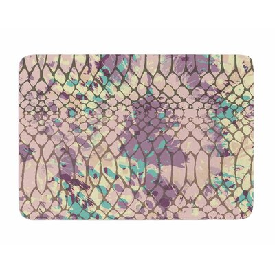 Snakeskin by Chickaprint Memory Foam Bath Mat