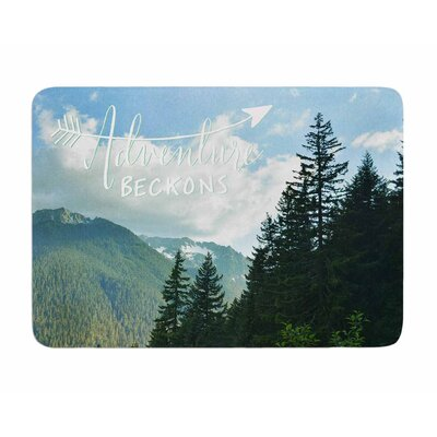Adventure Beckons by Robin Dickinson Memory Foam Bath Mat