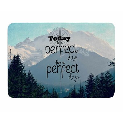 A Perfect Day by Robin Dickinson Memory Foam Bath Mat