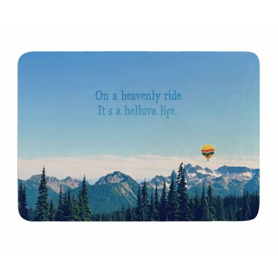 Its A Helluva Life by Robin Dickinson Memory Foam Bath Mat