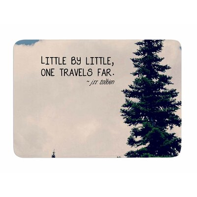 Little By Little by Robin Dickinson Memory Foam Bath Mat