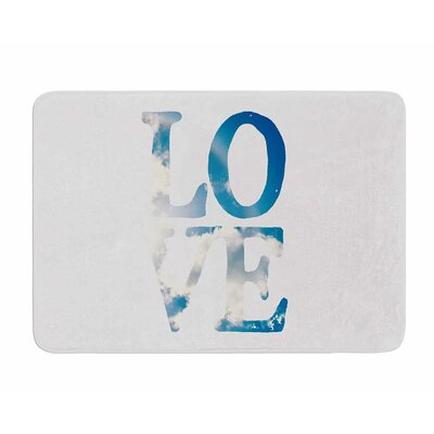 Love by Robin Dickinson Memory Foam Bath Mat
