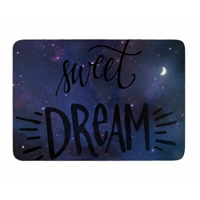 Sweet Dream by Robin Dickinson Memory Foam Bath Mat