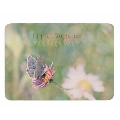 Turn the Country Up by Robin Dickinson Memory Foam Bath Mat