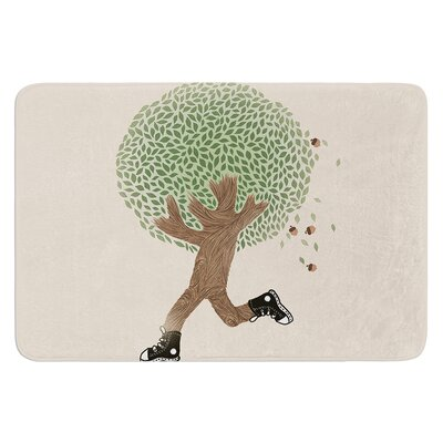 Run For Your Life by Tobe Fonseca Bath Mat