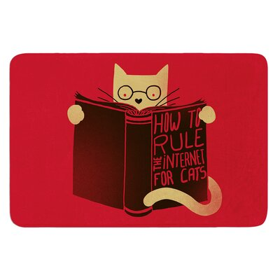 How to Rule the Internet For Cats by Tobe Fonseca Bath Mat