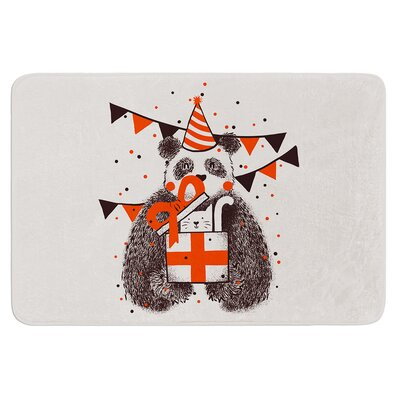 Happy Birthday by Tobe Fonseca Bath Mat