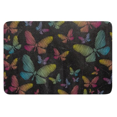 Butterflies II by Snap Studio Bath Mat