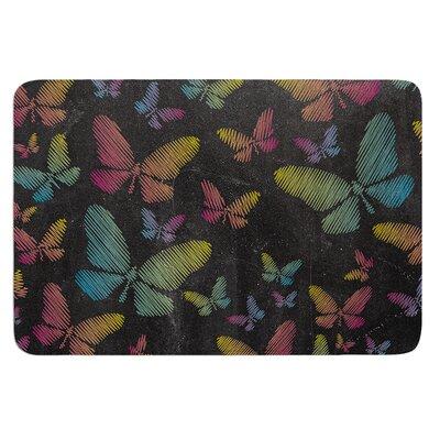 Butterflies II by Snap Studio Bath Mat