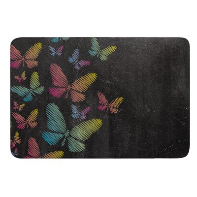 Butterflies by Snap Studio Bath Mat