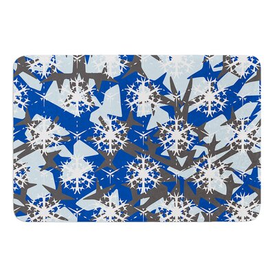 Ice Topography by Miranda Mol Bath Mat