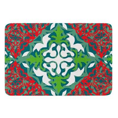 Lace Flakes by Miranda Mol Bath Mat