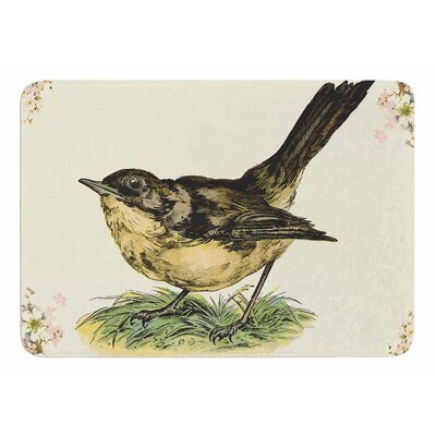 Vintage Bird by NL Designs Bath Mat