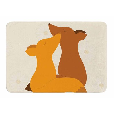 Foxy Love by NL Designs Bath Mat