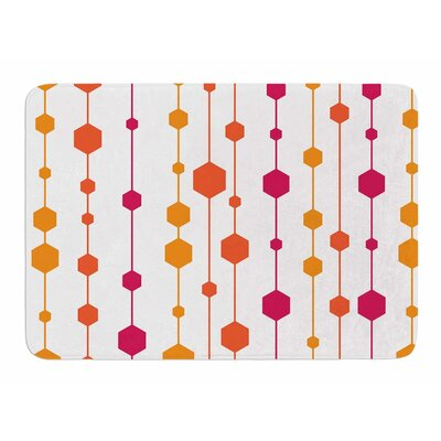 Warm Dots by NL Designs Bath Mat