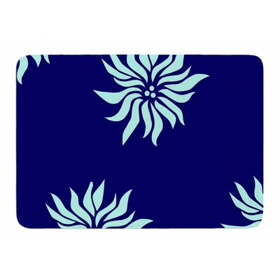 Snow Flowers by NL Designs Bath Mat
