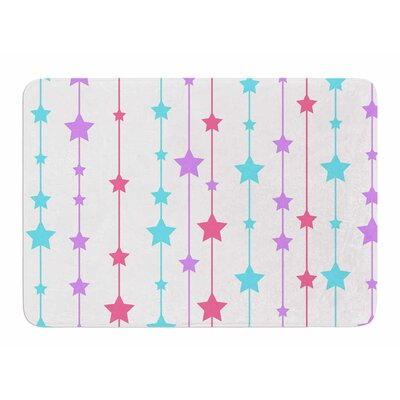 Pastel Stars by NL Designs Bath Mat