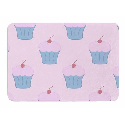 Cupcakes by NL Designs Bath Mat