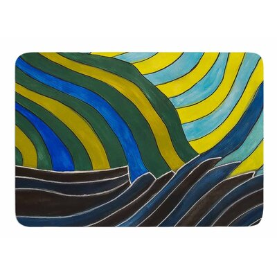 Desert Waves by NL Designs Bath Mat