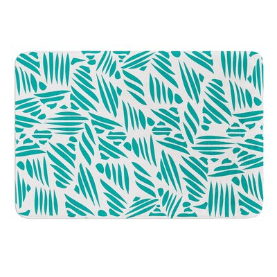 Bamboo Rayon by Pom Graphic Design Bath Mat