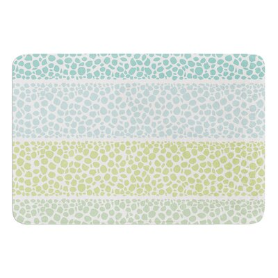 Zen Pebbles by Pom Graphic Design Bath Mat
