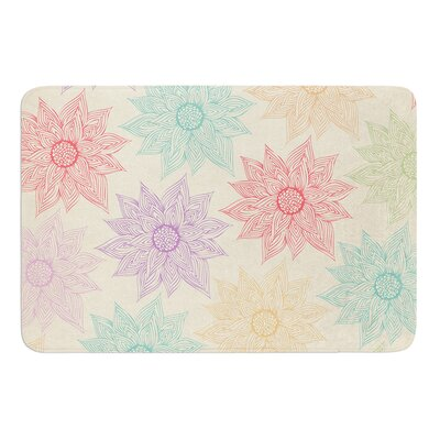 Spring Florals by Pom Graphic Design Bath Mat