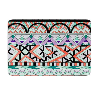 Tribal Invasion by Pom Graphic Design Bath Mat