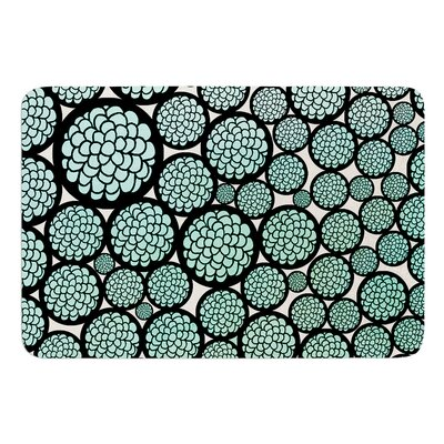 Blooming Trees by Pom Graphic Design Bath Mat