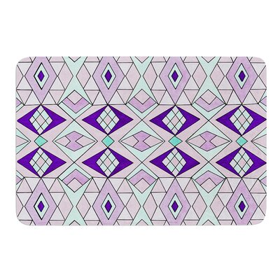 Geometric Flow by Pom Graphic Design Bath Mat