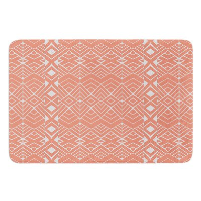 Aztec Roots by Pom Graphic Design Bath Mat