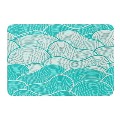 The Calm and Stormy Seas by Pom Graphic Design Bath Mat
