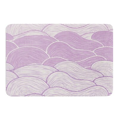 The Lavender Seas by Pom Graphic Design Bath Mat